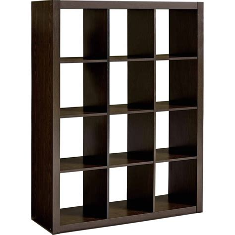 bookcase and organizer large modern 12 cube wood storage organizer home bookshelf