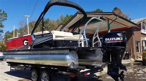 pontoon boats for sale near atlanta ga 2017 tahoe pontoons 2285 ltz crb tritoon bulldog pontoon