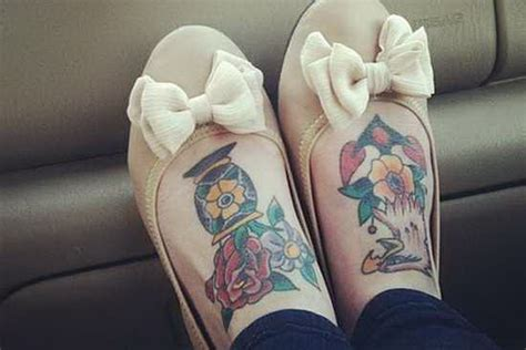 top of foot tattoo awesome foot and flip flop designs 5367727 171 top