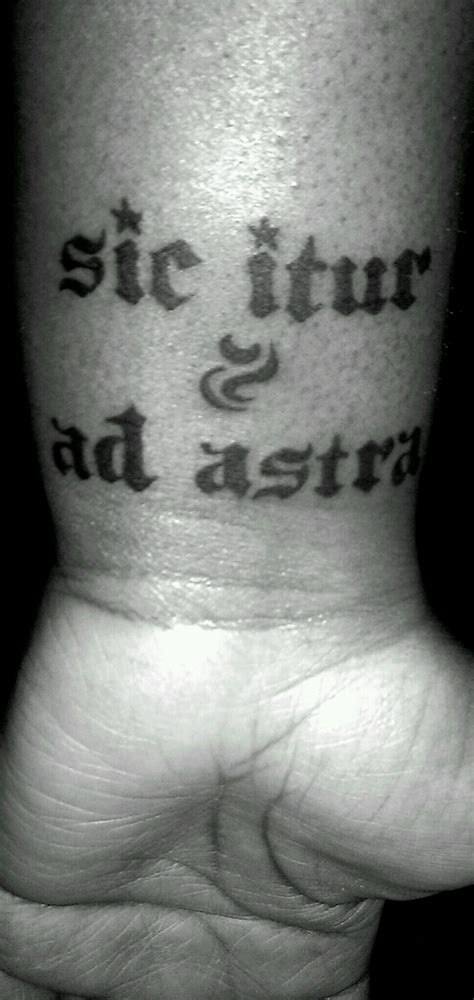 know thyself tattoo audax at fidelis bold but faithful quotes