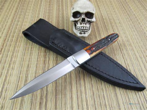 Handmade Daggers - steve vanderkoff dagger custom handmade d for sale