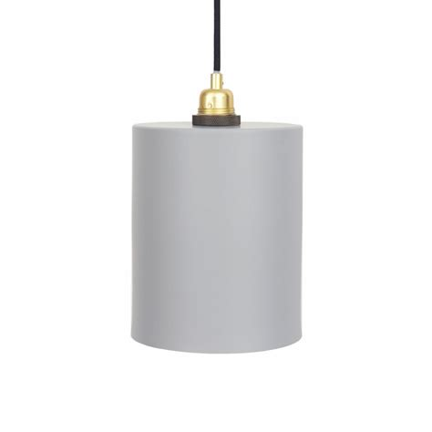 Cylinder Light Fixtures Cylinder Shade Pendant With E27 Fixture