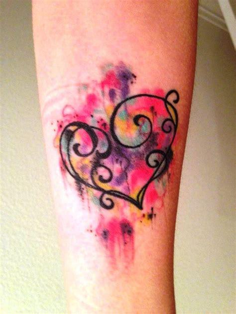 20 ideen kleine aquarell tattoos 187 tattoosideen com