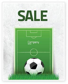 free templates for football posters european football field sale poster template in microsoft