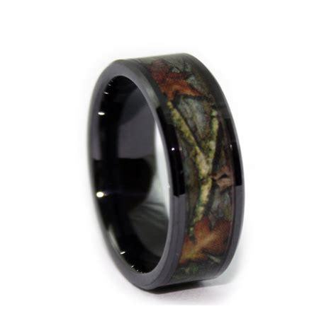 Wedding Rings Camo by Black Camo Wedding Rings By One Camo 8mm Black Rings