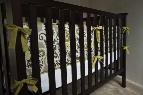 Make Crib Bumper by Diy Bumper Pad Tutorial Rooms
