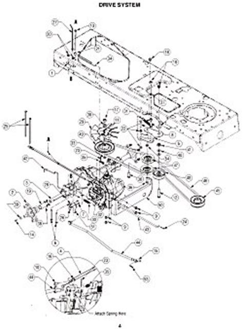 cub cadet lt1042 parts diagram cub cadet lt1042 lt1045 lt1046 lt1050 parts manual ebay