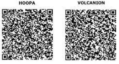 qr code shiny pokemon volcanion how to get hoopa volcanion shiny yvetal shiny xerneas