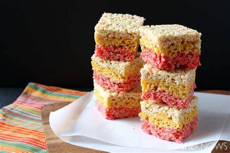 colored rice krispie treats 3 corn inspired