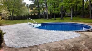 Backyard Pools Massachusetts Chelmsford Ma Inground Swimming Pool Matley Swimming