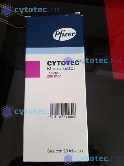 imagenes  presentacion de cytotec misoprostol cytotec