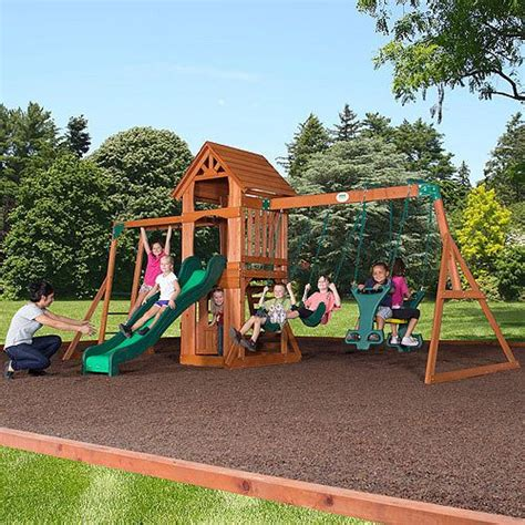 walmart outdoor swing set pin by michelle messer on kid stuff pinterest