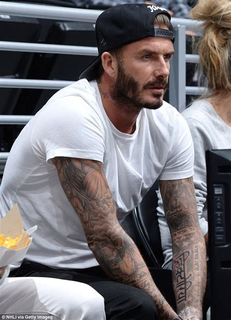 tattoo david beckham bedeutung david beckham s latest tattoo designed by daughter harper
