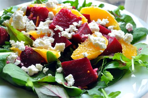 beet salad with orange and feta what s cooking