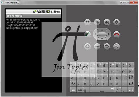 membuat aplikasi android jalan tikus membuat aplikasi android codingmaps jin toples programming
