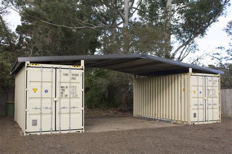 Cheap Sheds Kits by Shipping Container Roof Cover Shelter Kit Suits 2 X 20ft