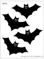 Bats printable templates amp coloring pages firstpalette com