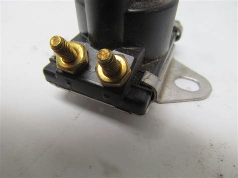 boat trim tab solenoid 8996158 mercury marine 12v trim solenoid boat ebay