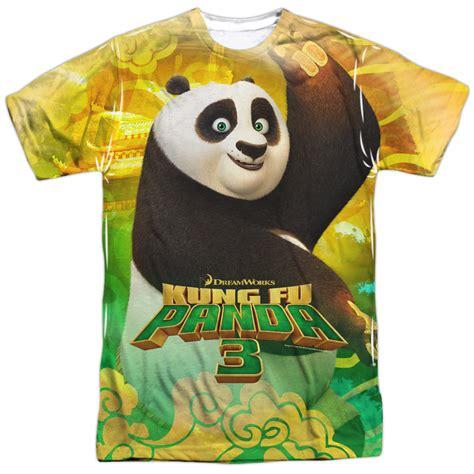 T Shirt Kungfu Panda 3 kung fu panda 3 po and friends sublimation shirt kung fu