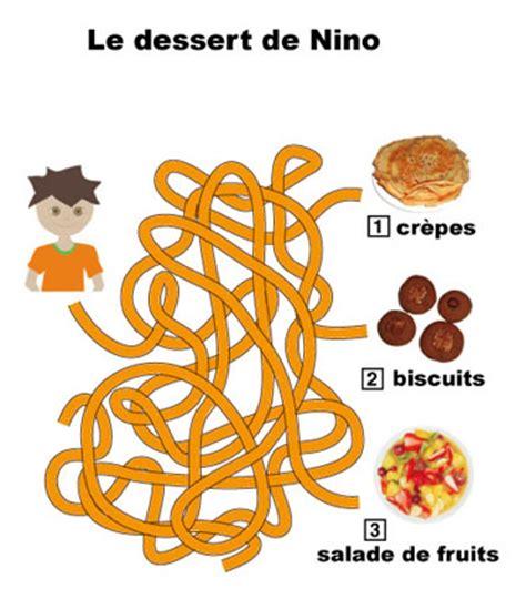 Jeux De Fil by Jeu Fils M 234 L 233 S Vocabulaire Des Desserts T 234 Te 224 Modeler