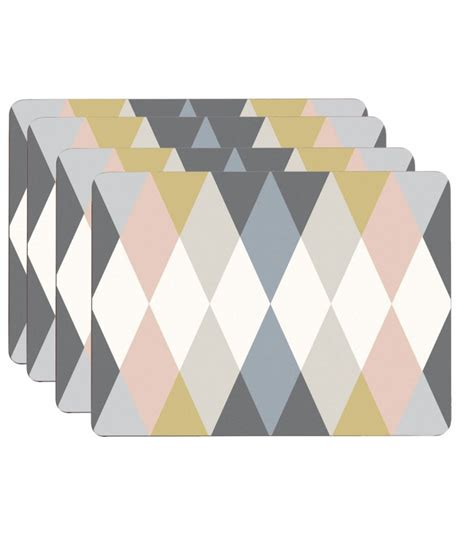 set de table design en li 232 ge stratifi 233 multicolore