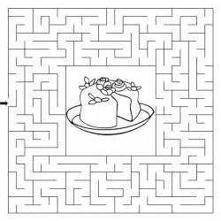wedding cake maze sermons4kids com