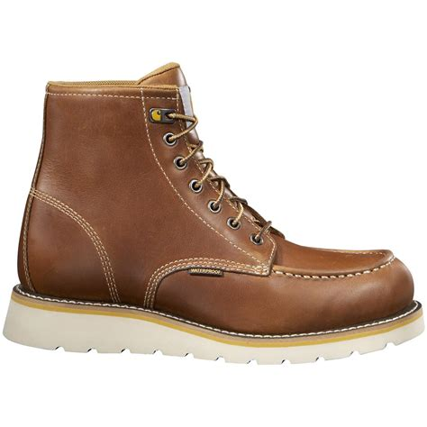 mens carhartt boots carhartt s 6 quot wedge work boots waterproof 589541