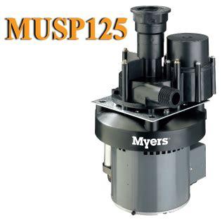 Musp125 Myers Musp125 Utility Sink Pump