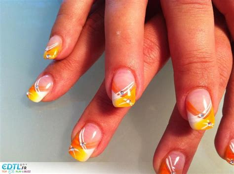 Decor D Ongle by D 233 Coration Ongles Jaune Nail Ongles