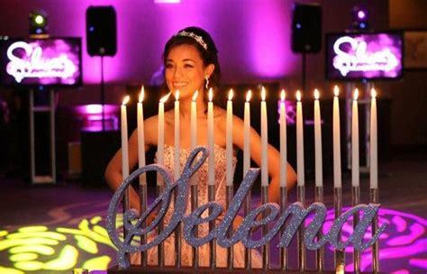 candelabros quinceanera quince a 241 os bat mitzv 225 y sweet 16 candelabros