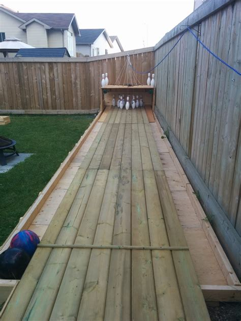 Backyard Bowling by Build Your Own Backyard Bowling Alley