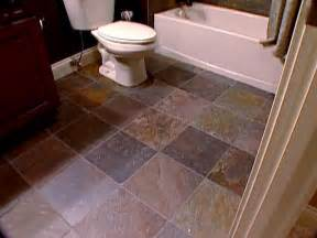Flooring Options For Bathroom The Pros And Cons Of Slate Tile Diy