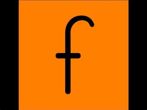 f and k letter f song video youtube