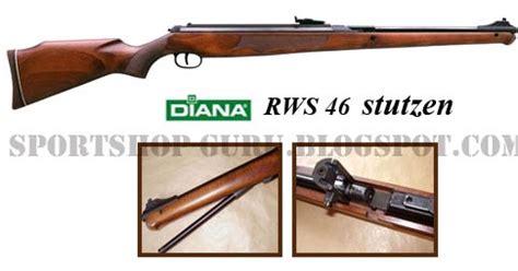 Mimis Rws Power list senapan angin classic model diana rws 46 stutzen gun