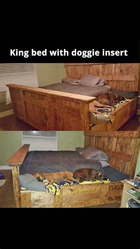 dog bed attached to bed king size bed with dog beds attached dog training tips