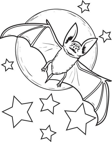 Bat Color Pages by Get This Bat Coloring Pages Free 86783
