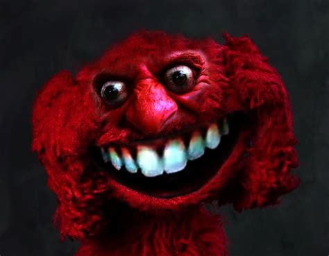 killer elmo elmo wants your soul creepy muppets some humor