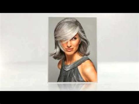 gray hairstyles youtube hairstyles for gray hair youtube