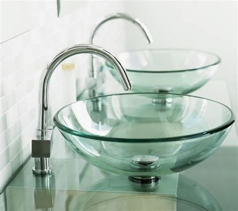 bathroom sinks glass bowls glass bowl sink utility properties of a glass sink