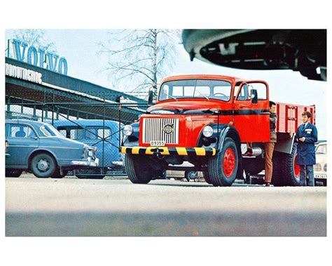 volvo truck factory 1971 volvo n88 truck factory photo ca5259 ebay