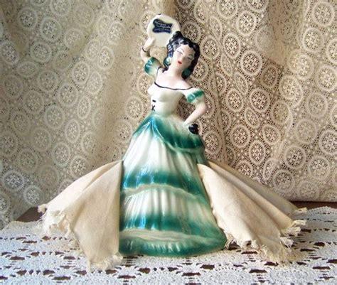 porcelain doll napkin holder reserved decodarling vintage napkin flamenco dancer