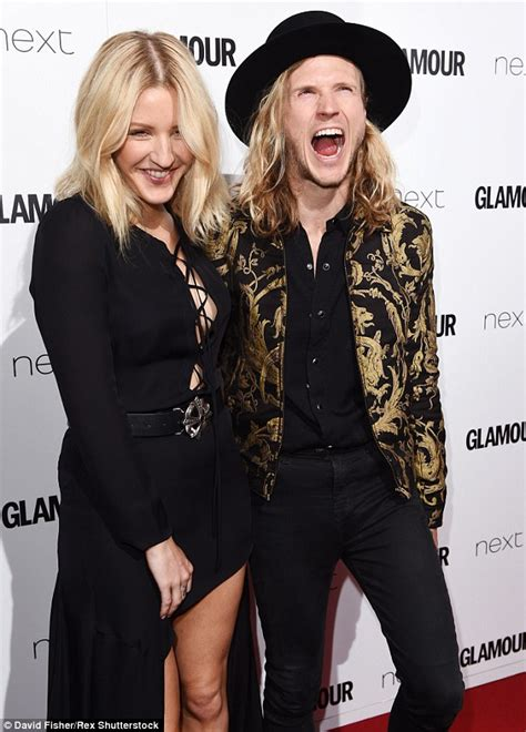 ellie goulding engaged dougie poynter hints at engagement to ellie goulding