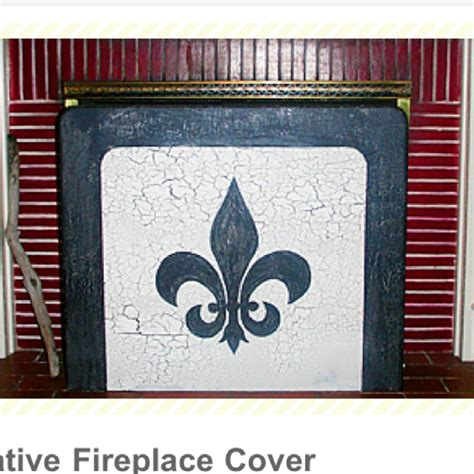 diy decorative fireplace cover fireplace screens