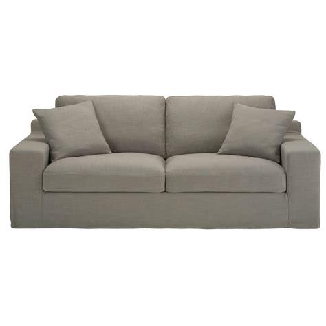 divani grigio divano grigio in tessuto 3 posti stuart maisons du monde