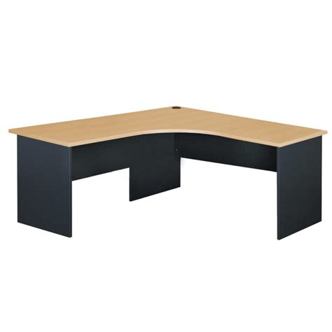 Left Corner Desk Alfa Corner Desk Left Turn 1800 Office Furniture Innovative Solutions