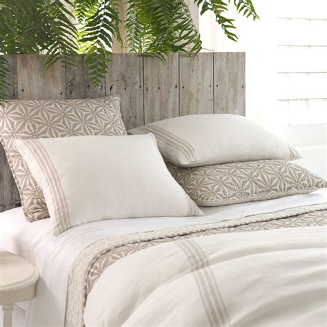 Duvet Cover District17 Varana Linen Neutral Duvet Cover Duvet Covers