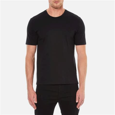 S T Shirt Collections 235g725 versace collection s crew neck t shirt black free uk delivery 163 50