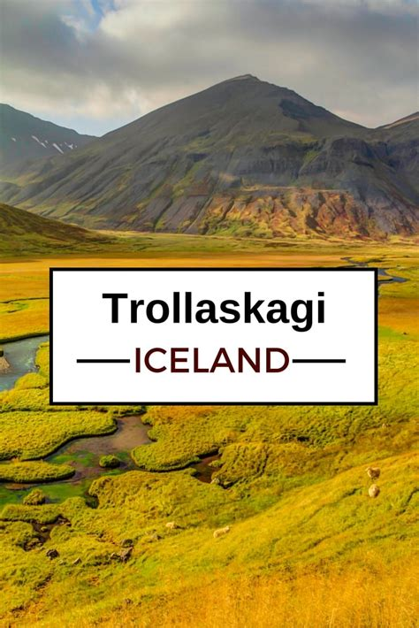 iceland the official travel guide books trollaskagi peninsula a less touristy gem of iceland