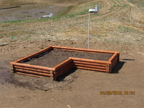 Using Landscape Timbers For Vegetable Garden Exceptional Landscape Timbers Raised Bed 9 Raised Bed