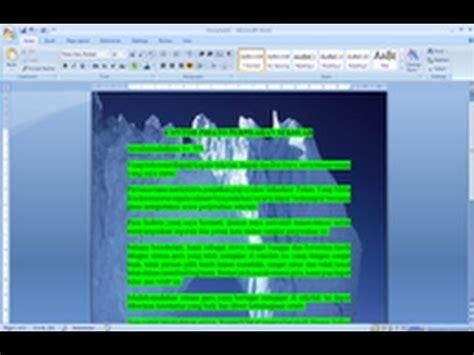cara membuat video tulisan dan gambar cara membuat tulisan di atas gambar pada microsoft word